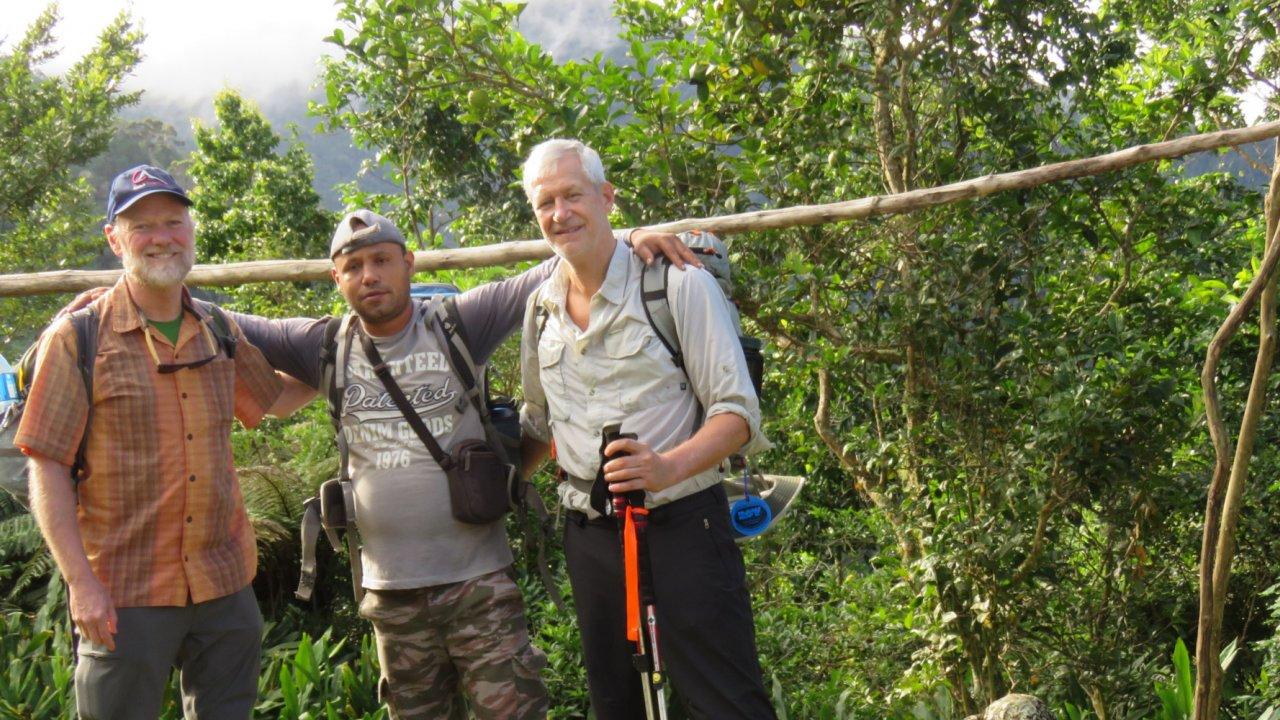 hikers in eastern Cuba