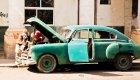Cuban classic car